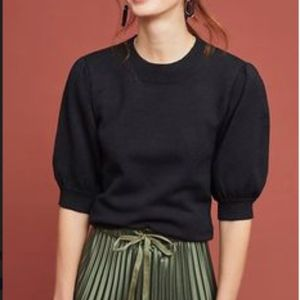 MOTH by Anthropologie Connelly Sweater Black